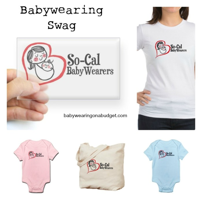 supportsocalbabywearers_swag_collage_babywearingonabudget