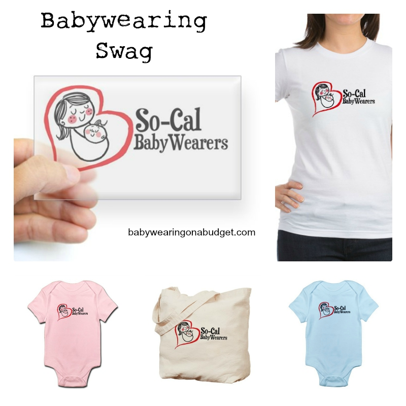 Babywearing Swag: Support So-Cal Babywearers