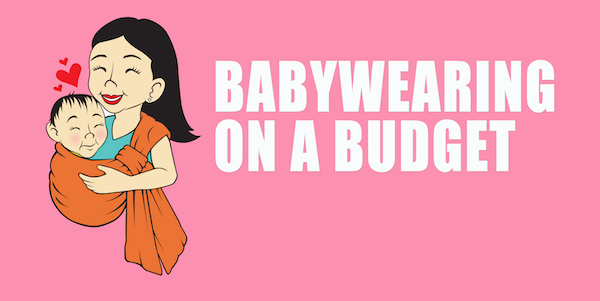 babywearing on a budget newsletter header white 600w