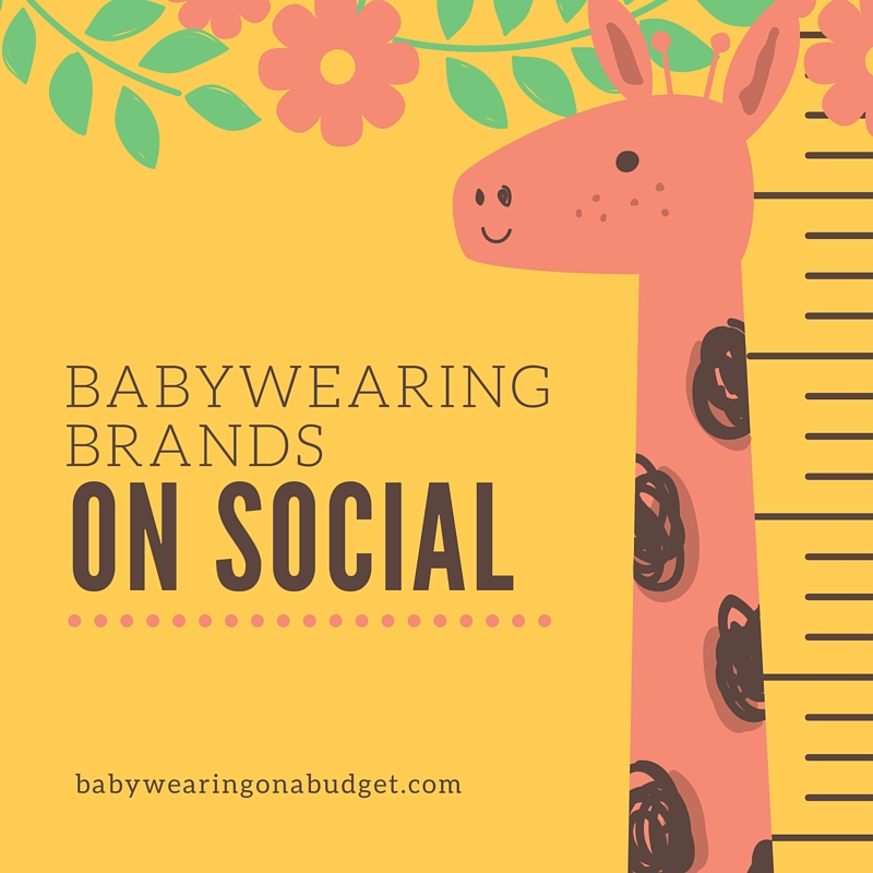 Babywearing Brands on Social Media