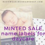 Minted Sale: Name Labels for Daycare