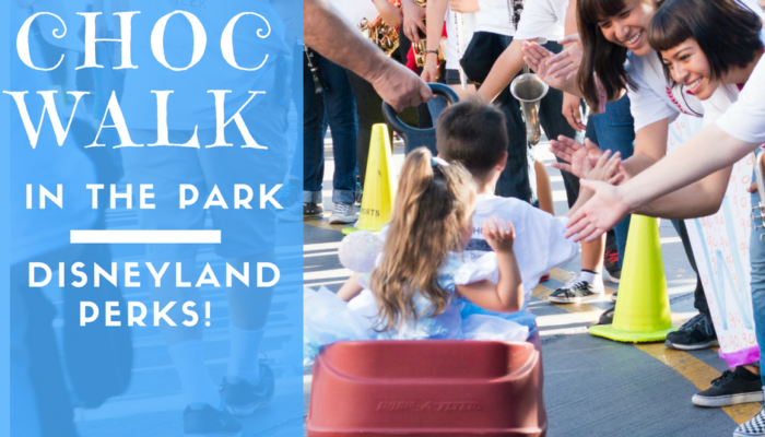Support CHOC Walk in the Park – Disneyland Perks!