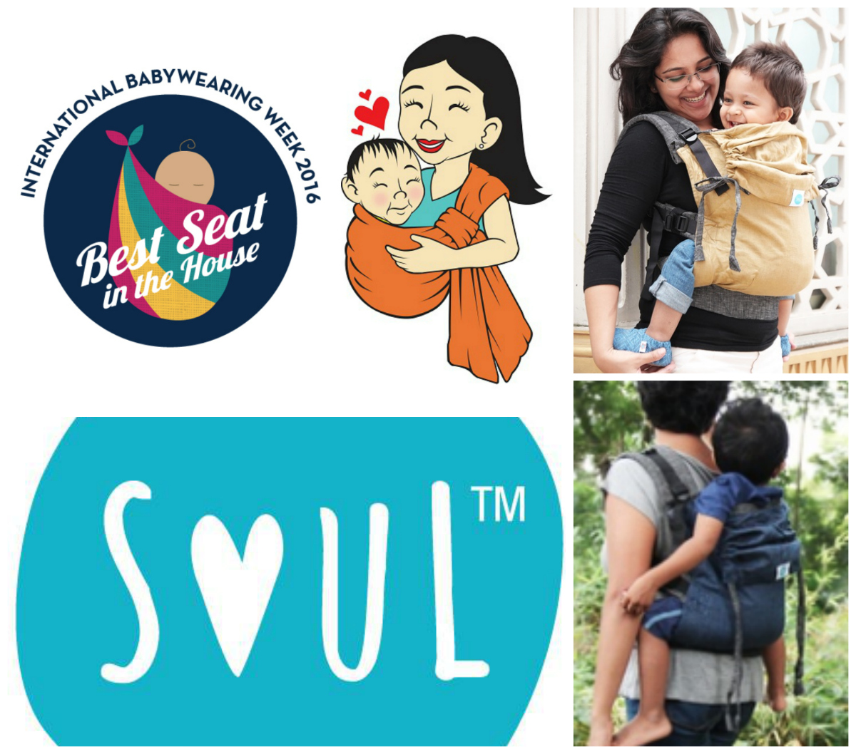 Giveaway: Soul Slings Linen Full Buckle Carrier