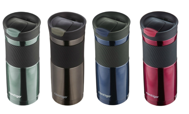 Contigo SnapSeal Vacuum Insulated Stainless Steel Travel Mug