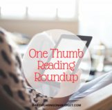 one-thumb-reading-roundup-babywearing-on-a-budget